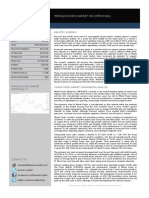 Duomo Capital Research Whole Foods Market Inc (WFM.nsq) 30.04.2014