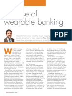 The rise of wearable banking