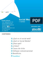 Social Media + Twitter