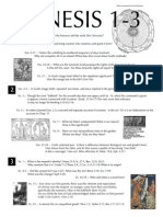 Genesis 1-3 Study Guide