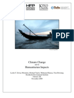 Climate Change and its Humanitarian Impacts