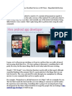 Hire Android App Developer, Excellent Services at $15/hour - Hyperlink InfoSystem