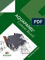 Aquapanel Standard Details Drawings