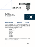 2014 Memorial Day Parade Press Release
