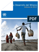 Mdg Report 2013 Spanish