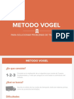 Metodo Vogel