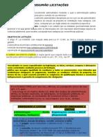 RESUMÃO LICITAÇÕES.doc