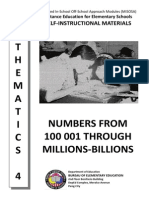 1. Numbers From 100 001 Through Millions-billions