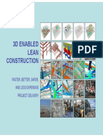 3D Enabled Construction