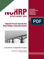 Adjacent Precast Concrete Box Beam Bridges