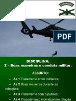 Boas Maneiras e Conduta Militar
