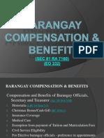 Barangay Compensation Lecture