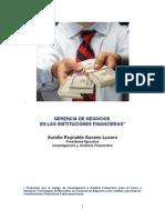 Gerencia de Negocios en las Instituciones Financieras