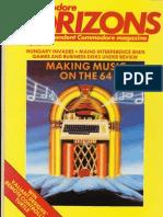 Commodore Horizons Issue 05 1984 May