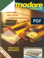 Commodore Horizons Issue 15 1985 Mar
