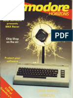 Commodore Horizons Issue 10 1984 Oct