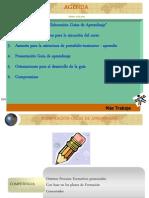 Agenda y Presentación Del Curso