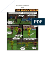 Roy of the Rovers - A New Beginning - Week 26 - Football Fiction Comic