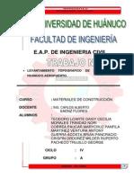 MONOGRAFÍA DE LEVANTAMIENTO TOPOGRAFICO DE LA CARRETERA HUANUCO-AEROPUERTO - copia.pdf