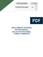 Reglamento Interno de Seguridad Salud Ocupacional y Medio Ambiente - Viatel