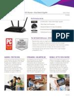 Netgear Nighthawk AC1900 Smart WiFi Router - Dual Band Gigabit