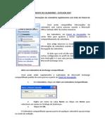 Compartilhamento de Calendário - Outlook 2007