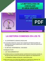 La Metodología de Checkland treinta y cinco Años Después - Phd. Hernán Lopez-Garay