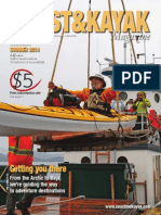 Summer 2014 Coast&Kayak Magazine