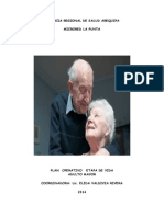 Plan Operativo Anual Del Adulto Mayor 2014