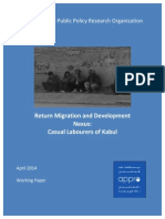 Return Migration and Development Nexus