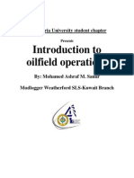 Introduction to Oil Field