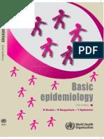 Basic Epidemiology