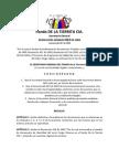 Resolución 022 de 2009 - Anulación de Documentos