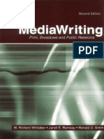 Chapter 2 -MediaWriting- Print_ Broadcast_ and Public Relations (2004)