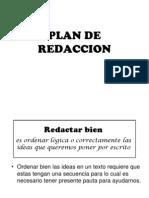 Plan de Redaccion