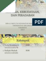 ISBD manusia dan kebudayaan