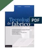 60 - Tecnologia de Fabrico -A.completo, A. Festas e J. Paulo Davim