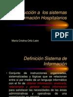 Introduccion Sis Inf Hospitalarios