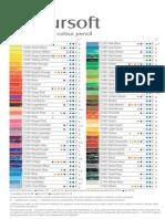 Coloursoft Pencils Chart