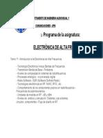 Electronica de Alta Frecuencia-2