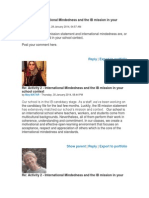 Activity 2 - International Mindedness