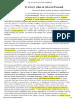 ¿Qué Es La Critica_ Un Ensayo Sobre La Virtud de Foucault (Cópia Em Conflito de MacBook-Pro-De-NuhUFMG 2014-04-07)