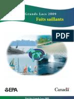 État des Grands Lacs 2009 - Faits saillants