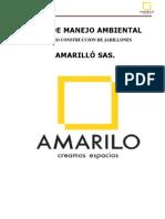 Plan Manejo Ambiental Jarillones