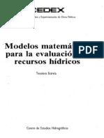 Modelos Matematicos Recursos Hídricos