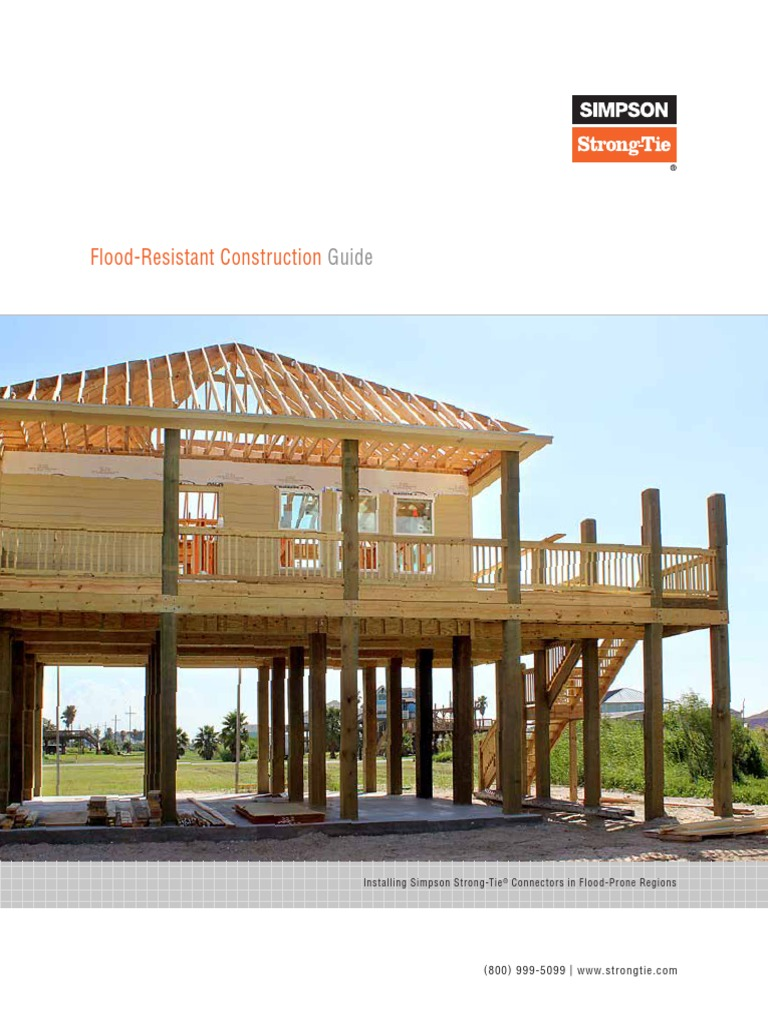 Flood Resistant Construction Guide Flood Structural Engineering