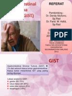 Gastrointestinal Stroma Tumor (GIST)