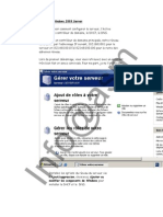 Configuration Du Serveur Windows 2003 Server