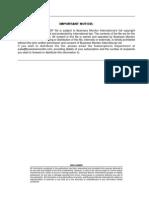 Venezuela Business Forecast Report Q3 2013