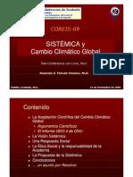 Sistémica y Cambio Climático Global - Ph.D Honorato Teissier Fuentes